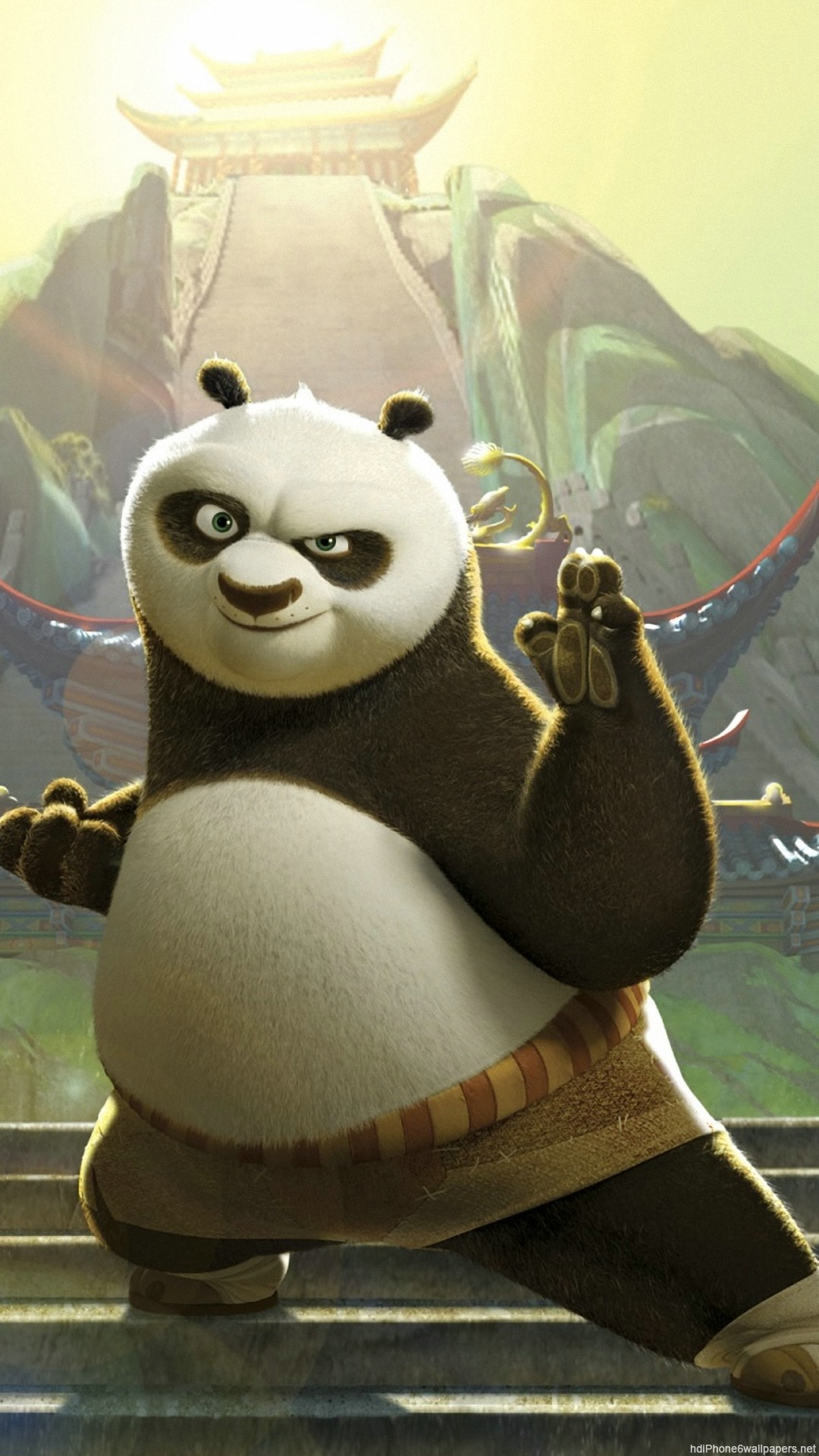 1080x1920  Kung Fu Panda iPhone 6 wallpapers HD - 6 Plus backgrounds