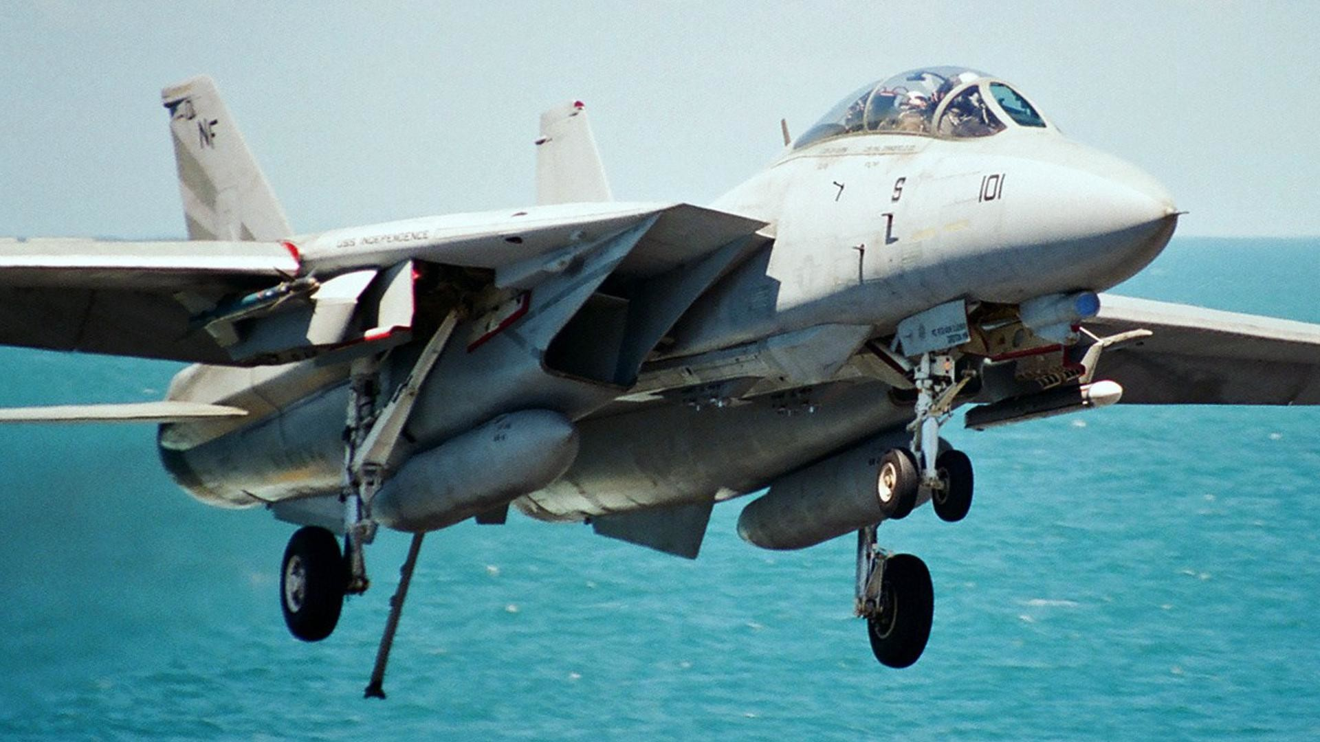 1920x1080 HD F-14 Tomcat Good Ling Wallpaper