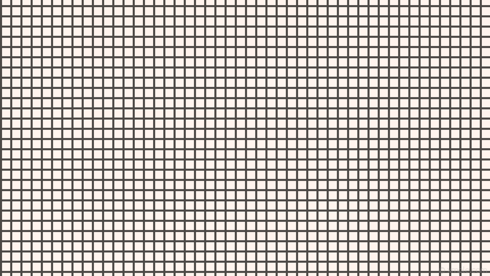 1920x1080 wallpaper graph paper black white grid seashell #fff5ee #000000 0° 8px 40px