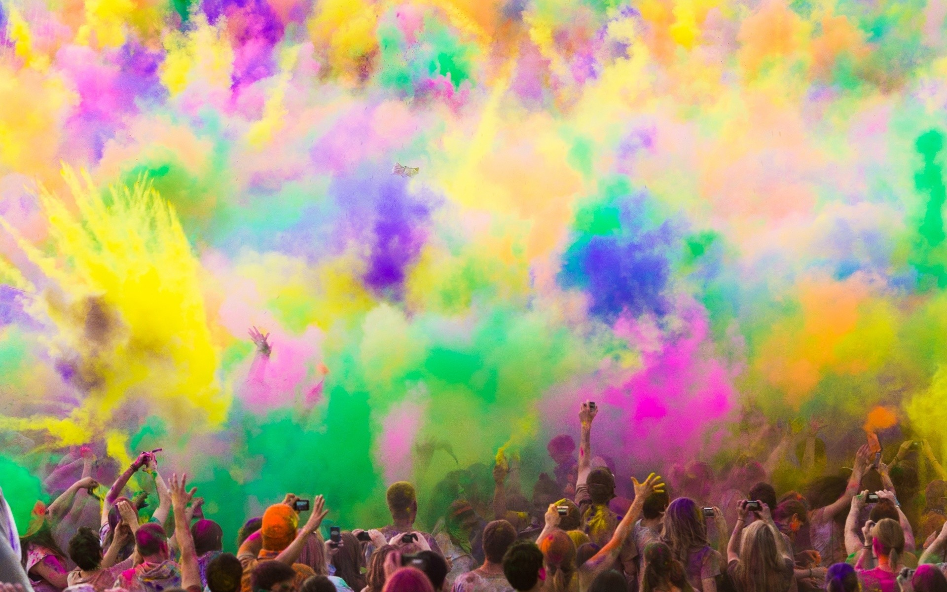 1920x1200 Download and View Full Size Photo. This Colorful Paint Smoke ...