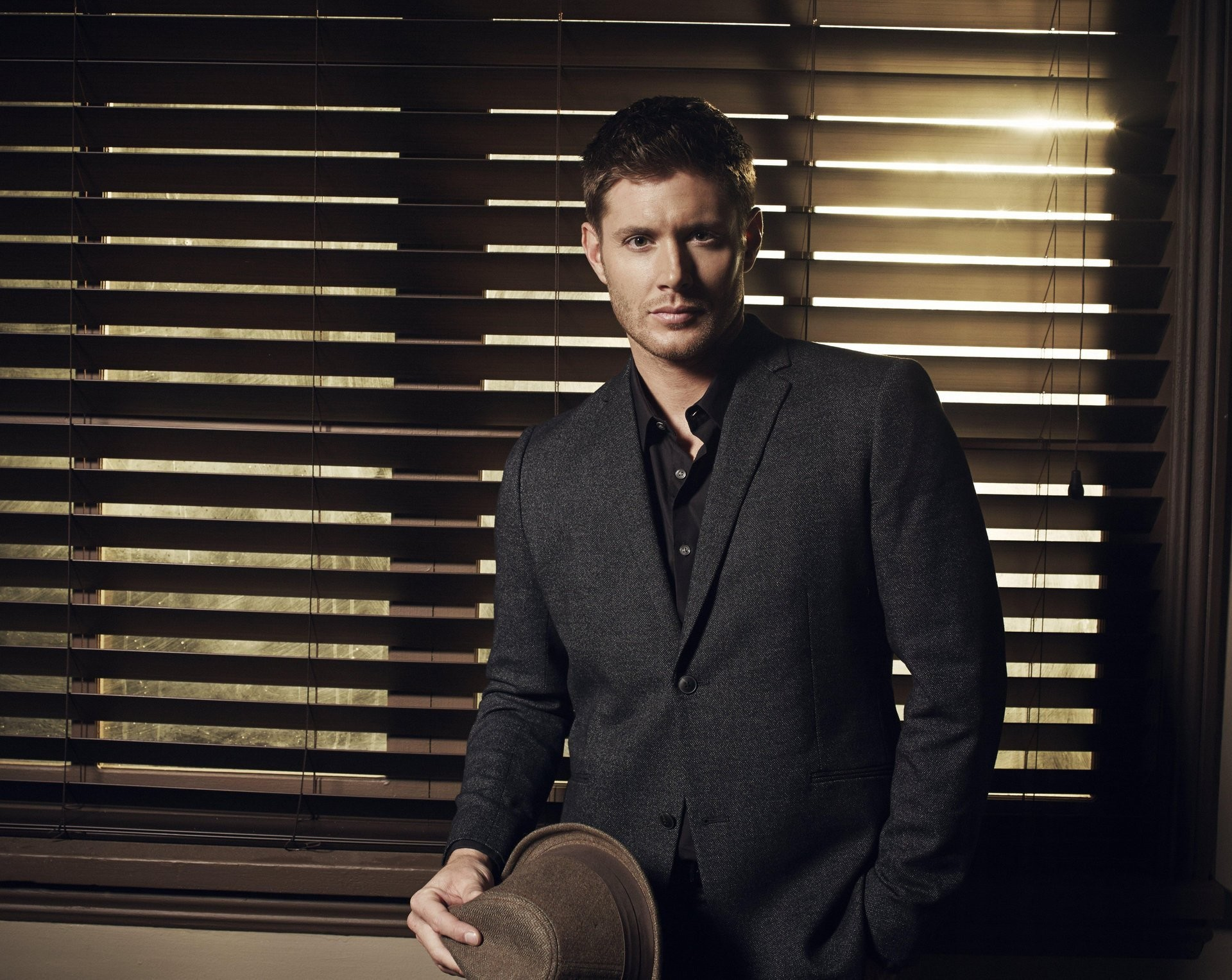 1920x1526 jensen ackles jensen ackles men suit hat actor tv series supernatural  season 9 supernatural dean winchester
