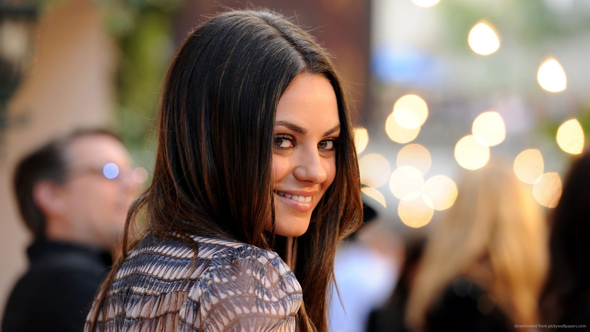 1920x1080 Mila Kunis beautiful smile for