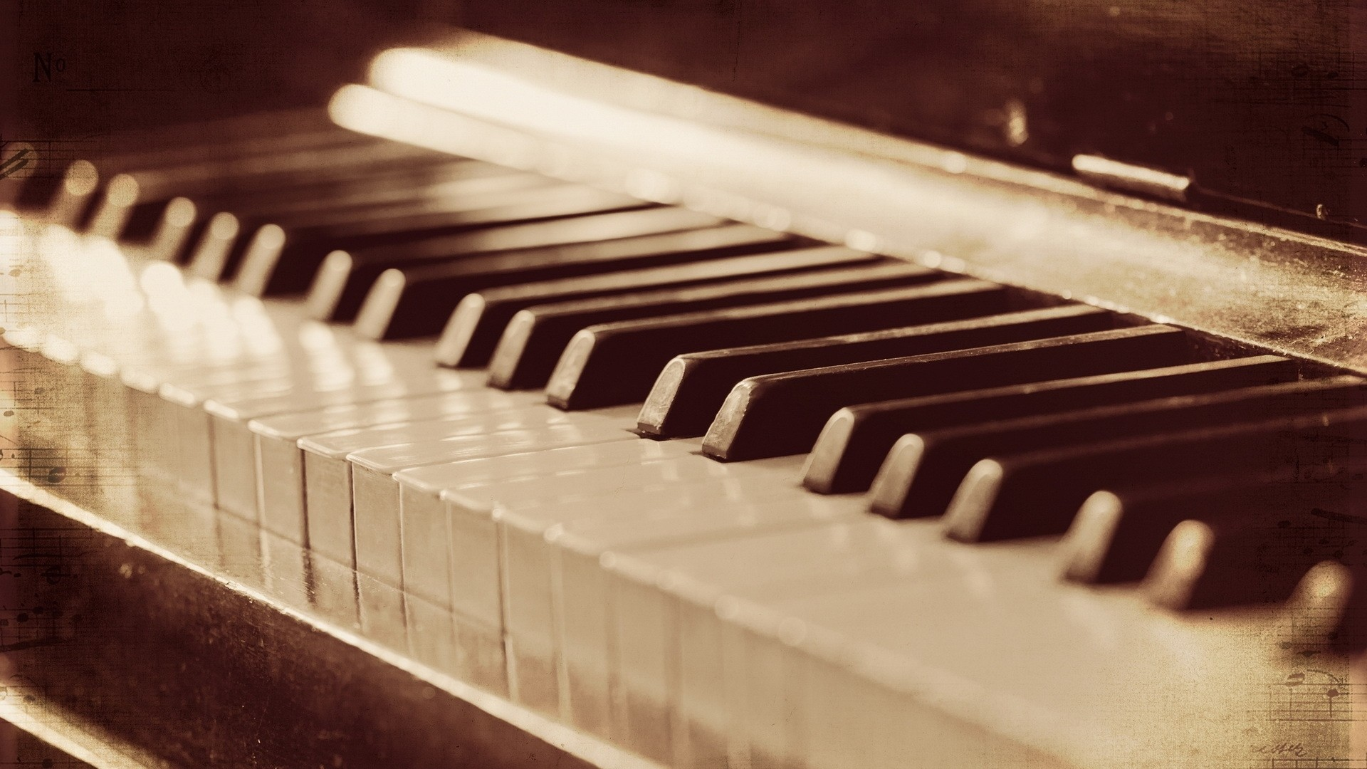 1920x1080 Preview wallpaper piano, music, background, style