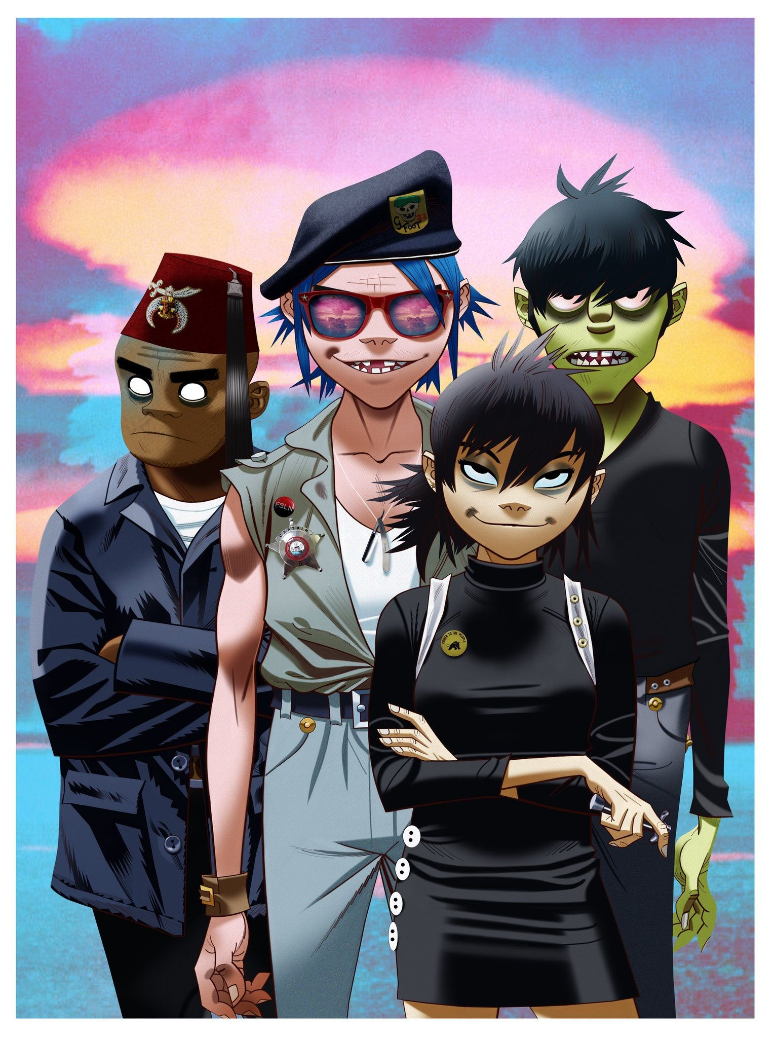 Gorillaz Iphone Wallpaper 81 Images