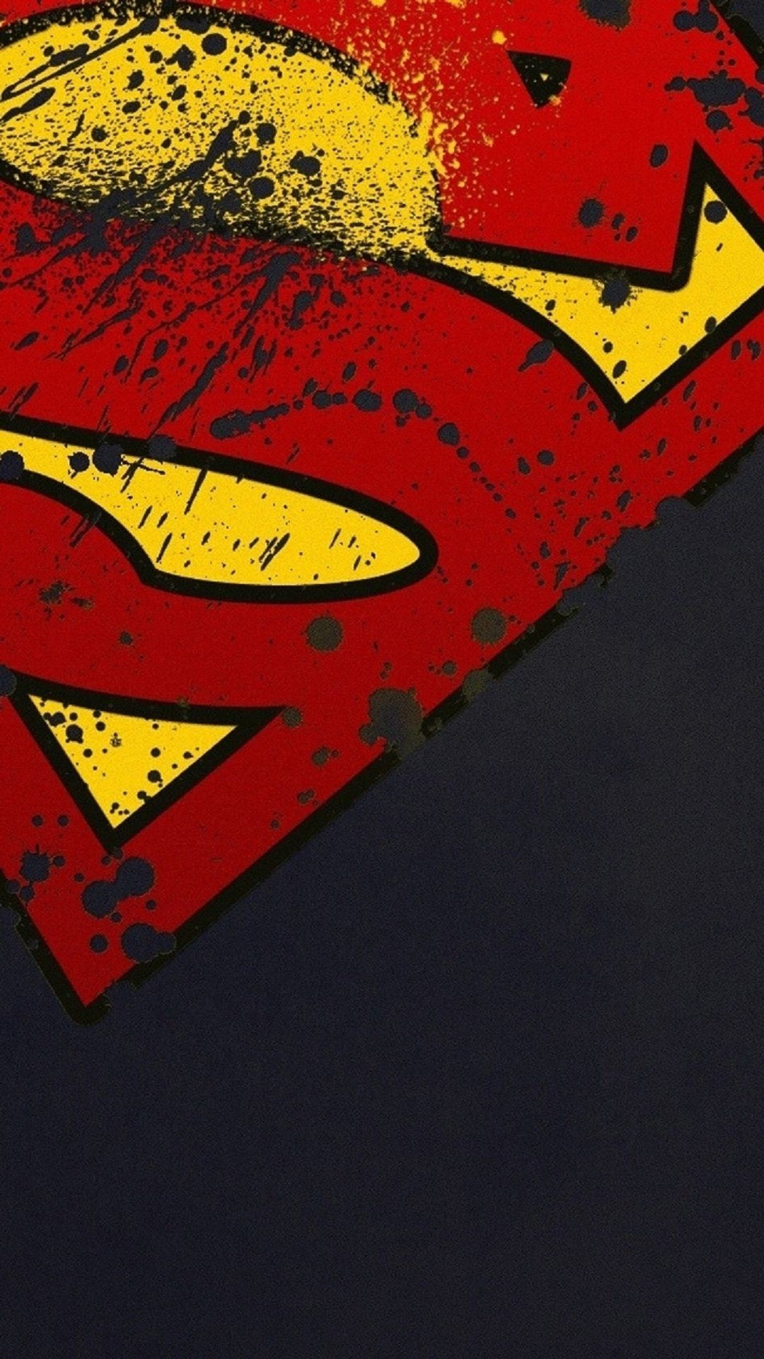 1080x1920 Superman Logo iPhone Wallpaper HD - WallpaperSafari