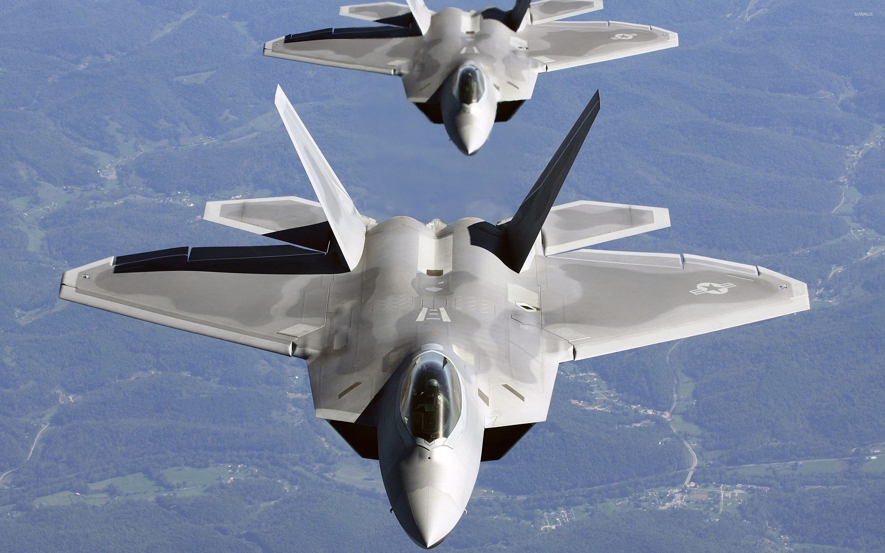 2880x1800 Lockheed Martin F-22 Raptor [9] wallpaper