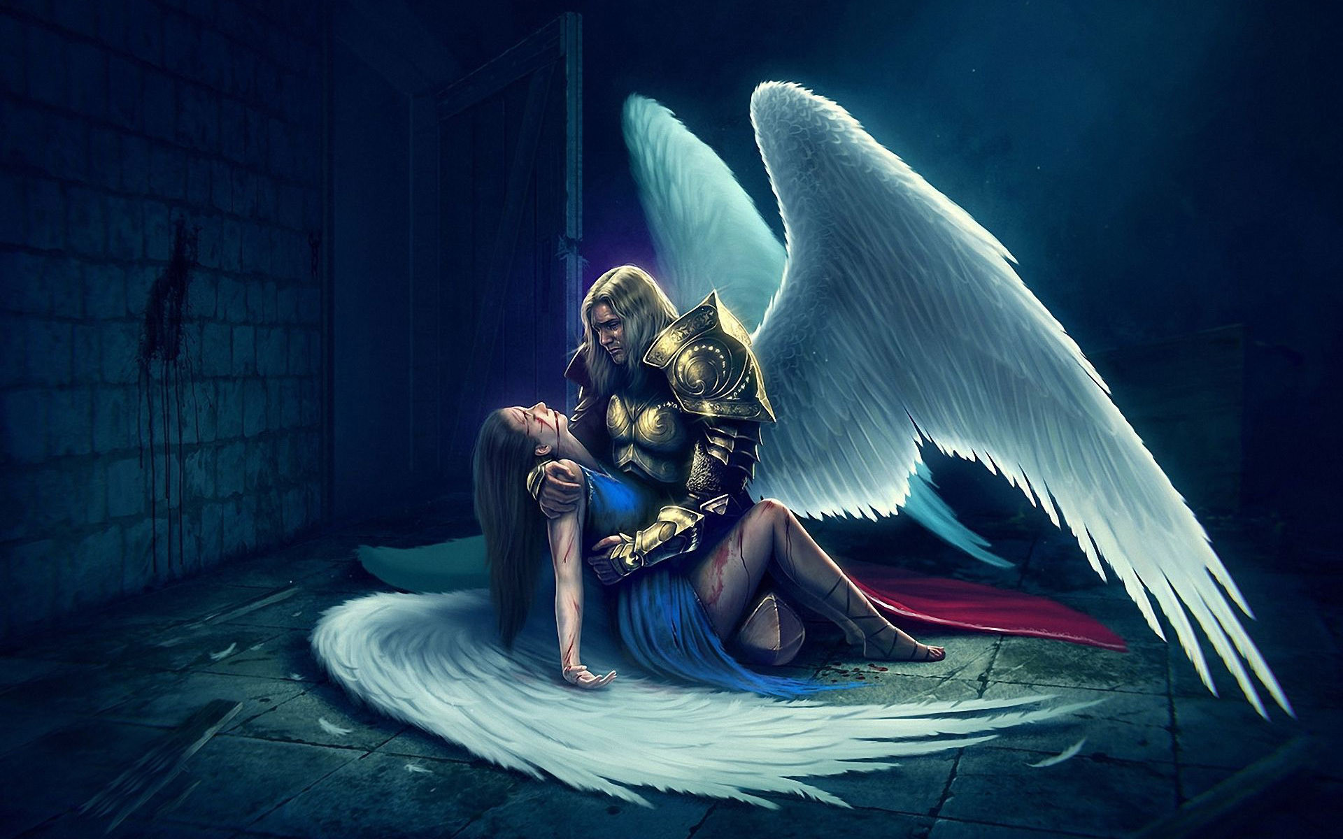 1920x1200 Dying angel wallpaper #18413