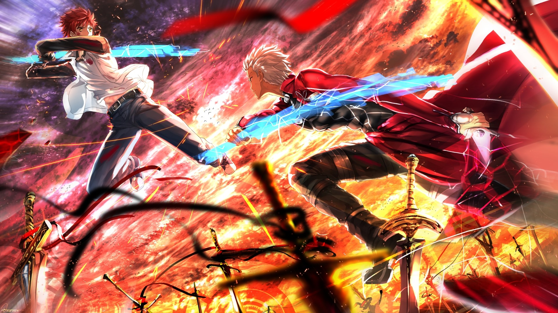 1920x1080 Fate/stay night: Unlimited Blade Works Wallpapers