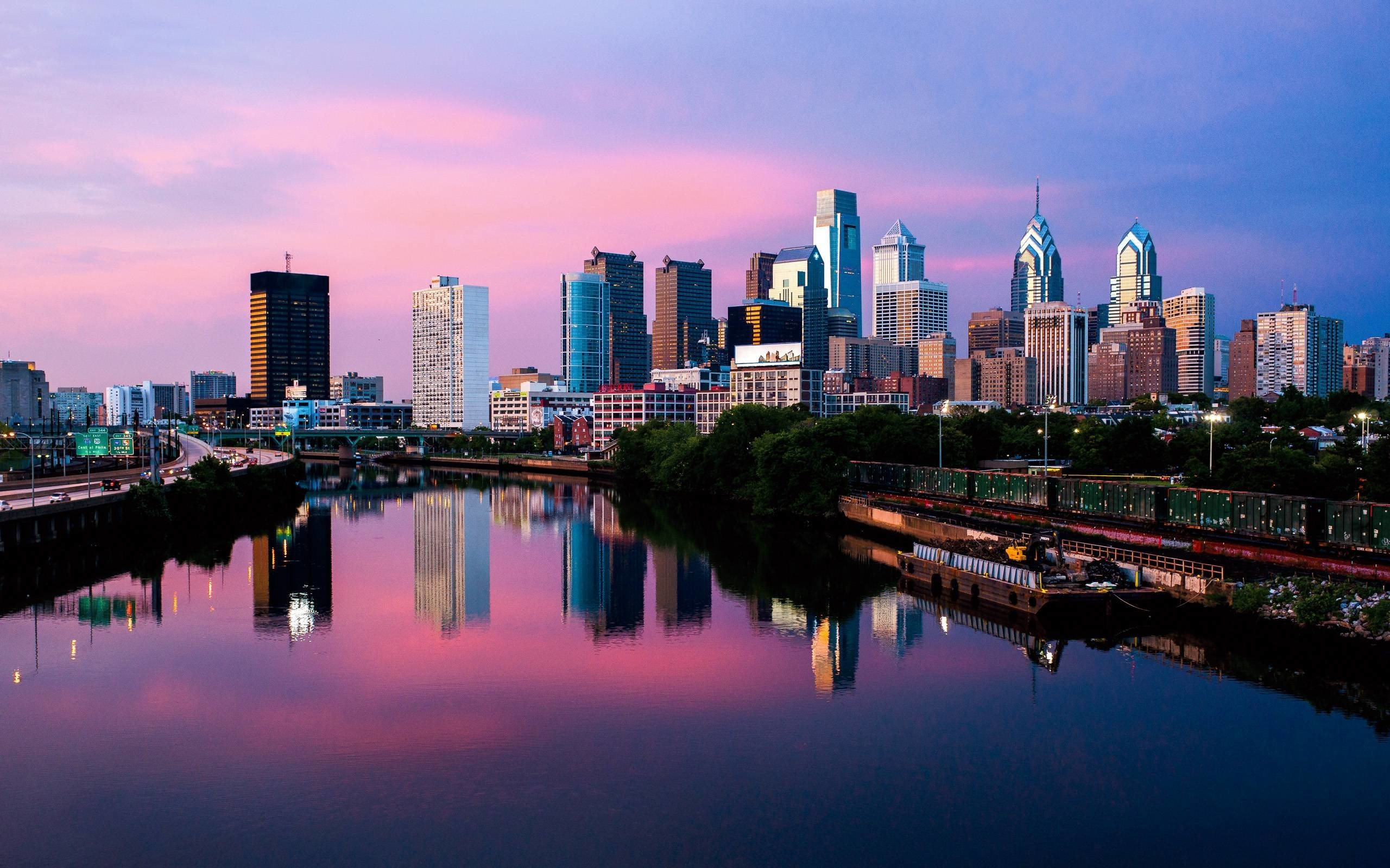 2560x1600  Philadelphia Skyline Wallpaper Photo Art Print Philly Picture  Pictures