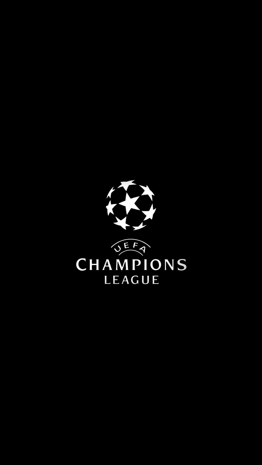 Res: 1080x1920, Champions League Europe Logo Soccer Art Illustration Dark Bw #iPhone #6 # wallpaper