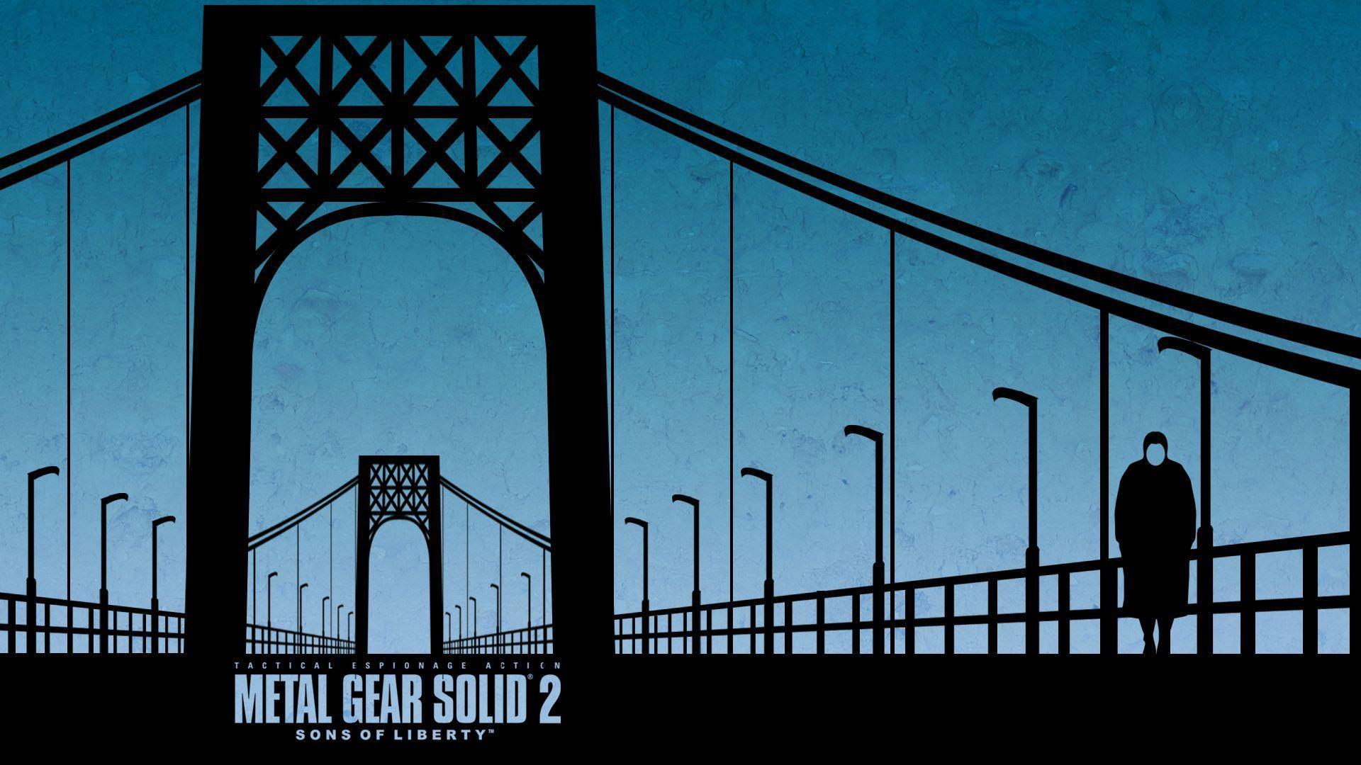 Metal Gear Solid 2 Wallpaper (74+ images)
