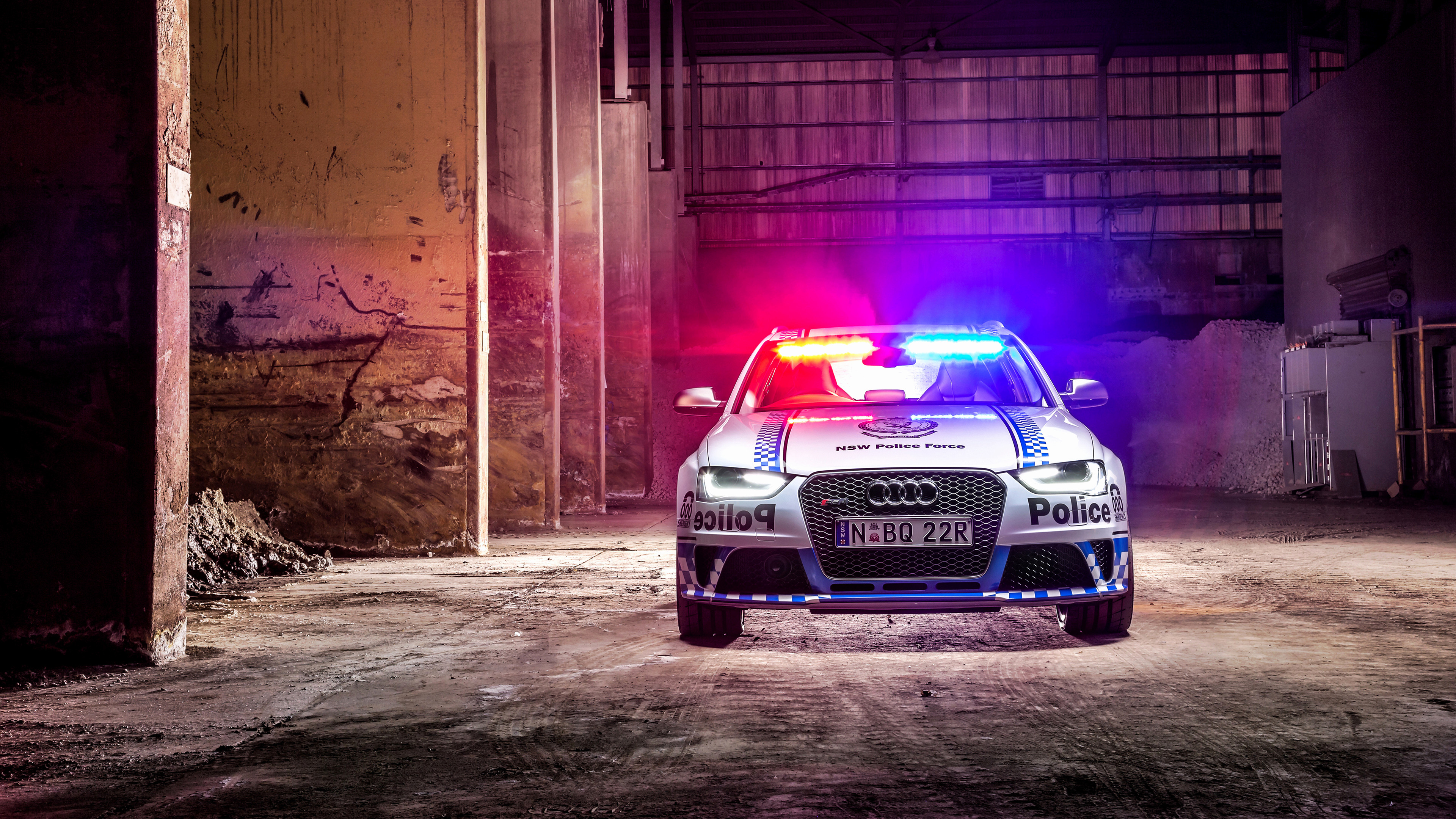 3840x2160 Police Car Wallpapers Beautiful 2015 Audi Rs4 Avant Police Wallpaper Hd Car  Wallpapers