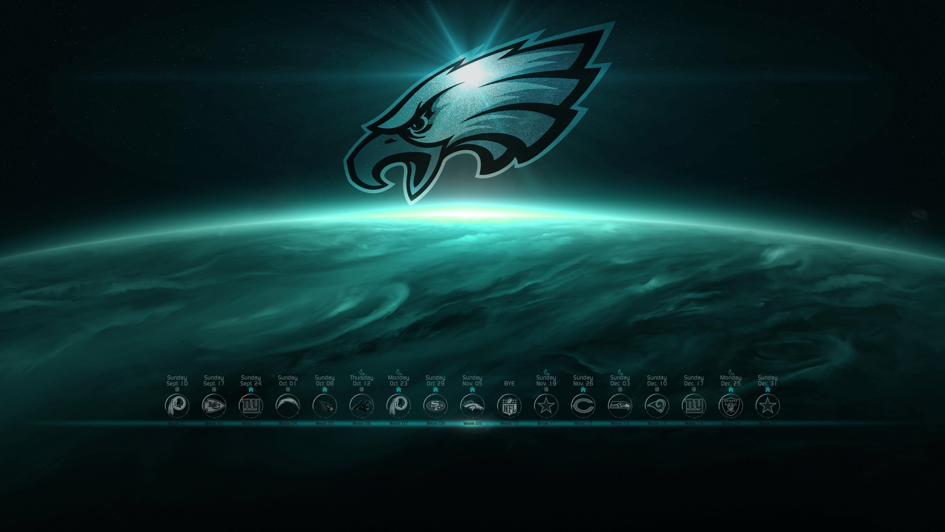 Philadelphia Eagles 2018 Schedule Wallpaper (56+ Images