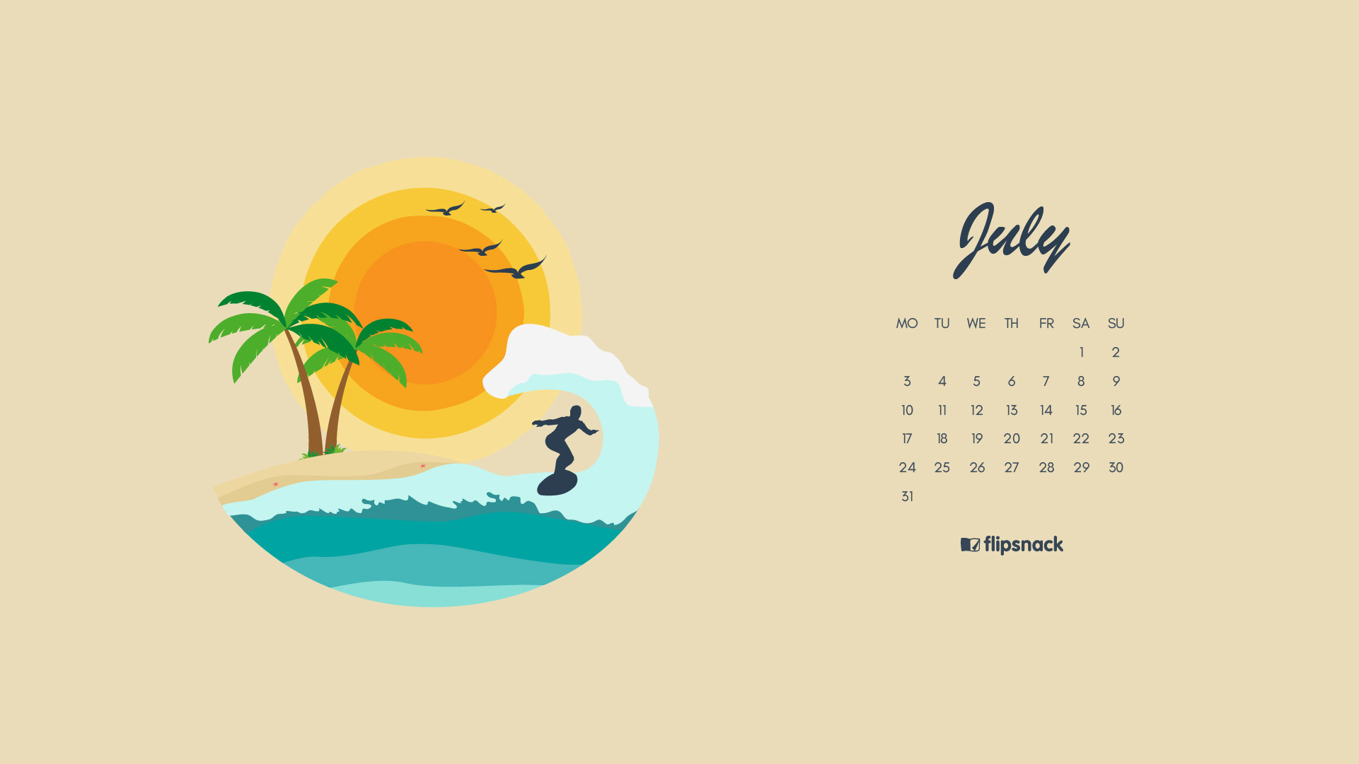 1921x1081 Download calendar (week starts on Monday): ...