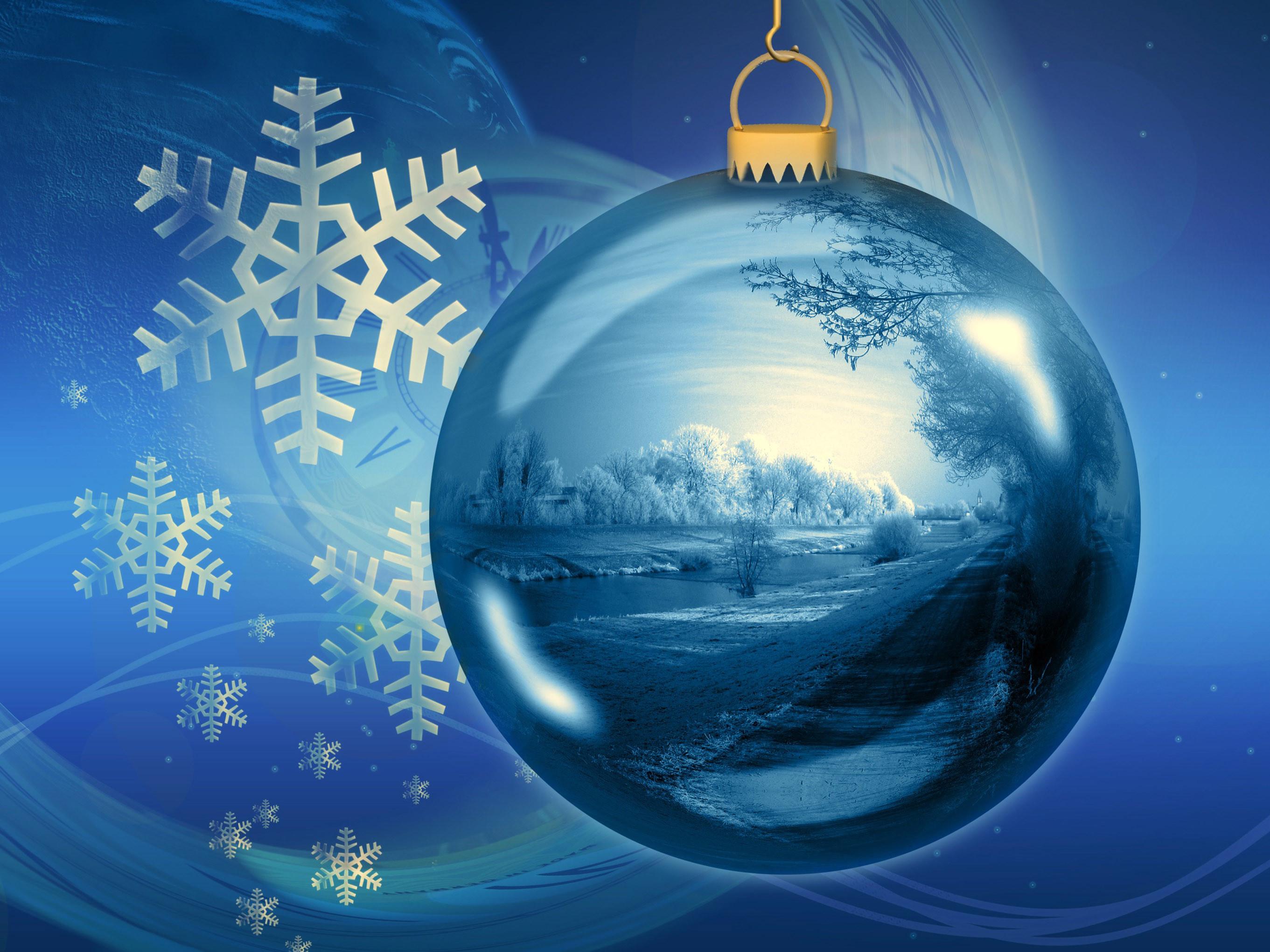 Christmas Snow Globe Wallpaper (63+ Images