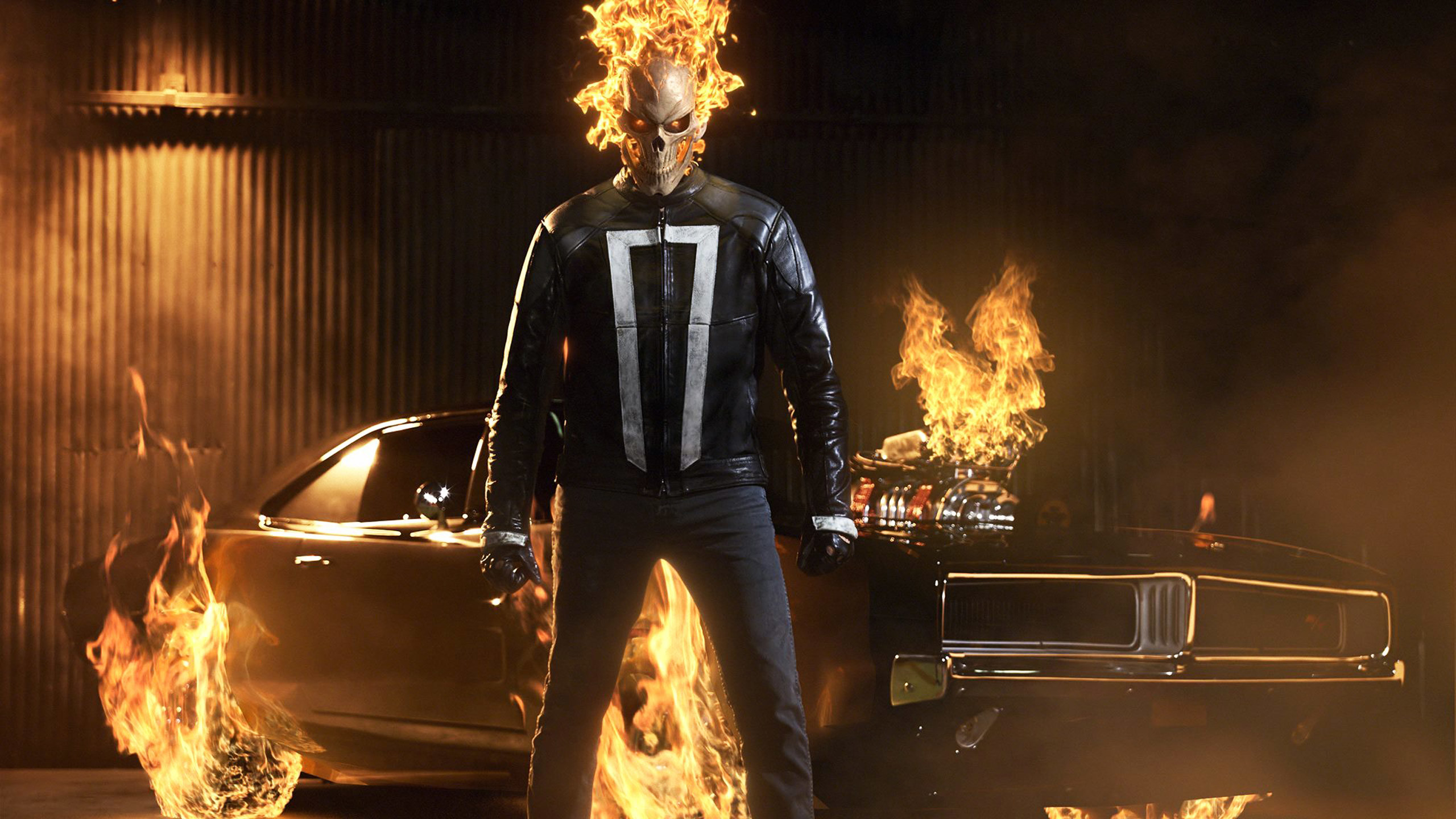 2560x1440 TV Series / Ghost Rider Wallpaper. Ghost Rider, Agents of SHIELD ...