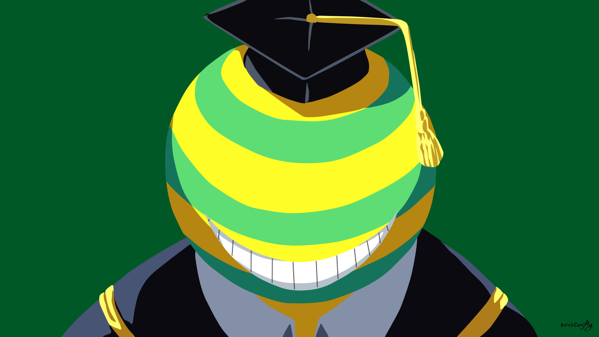 1920x1080 ... Koro-sensei (Mockery) | Assassination Classroom by ovieswifty