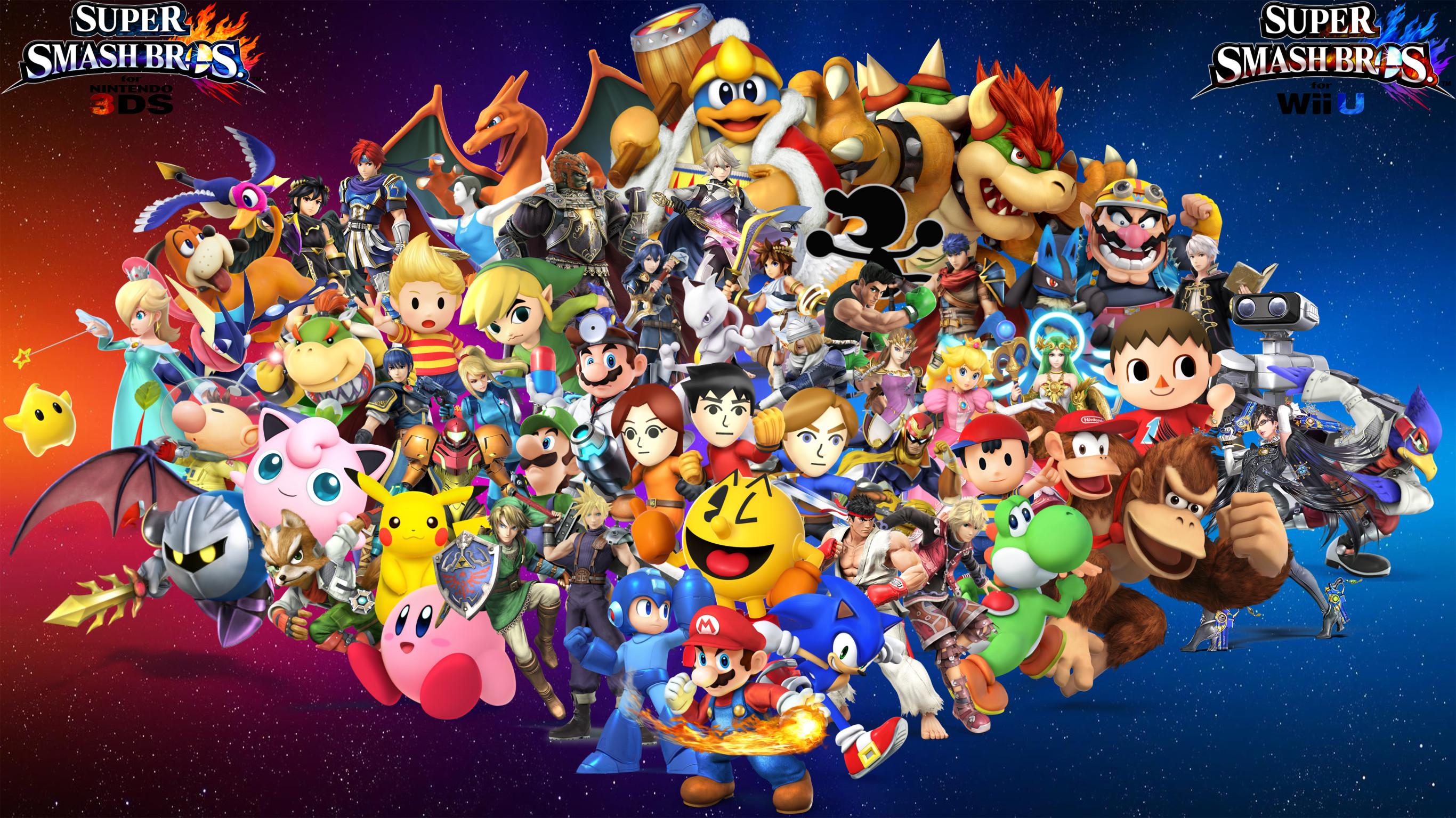 Smash Bros 4 Wallpaper (80+ images)