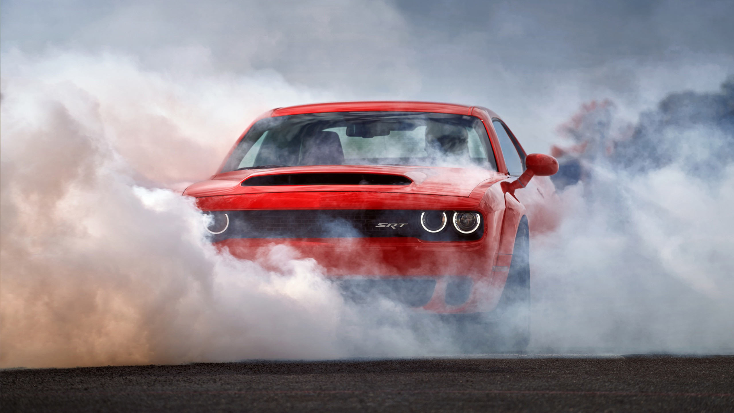 2560x1440 2018 Dodge Challenger SRT Demon