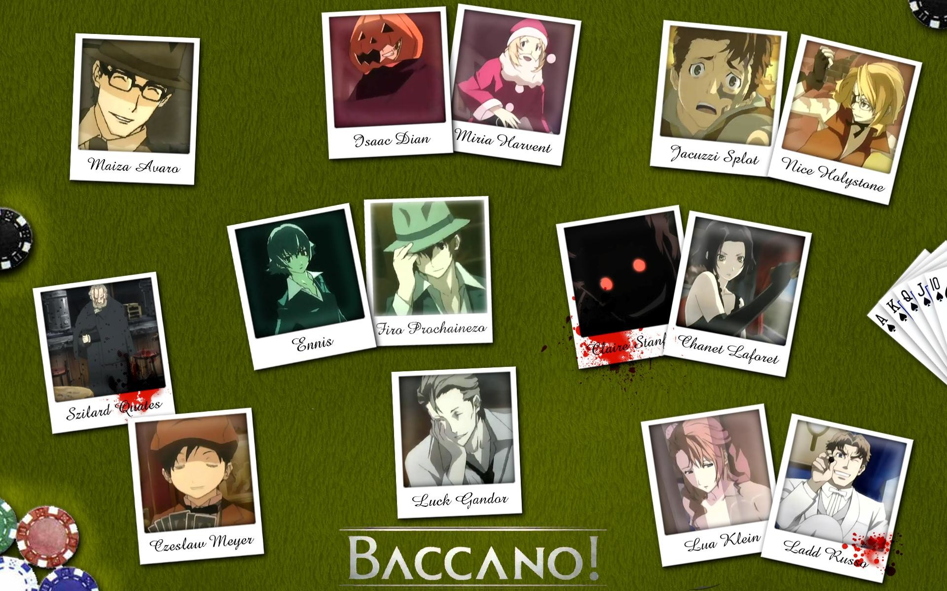 1920x1200 Baccano! wallpapers HD