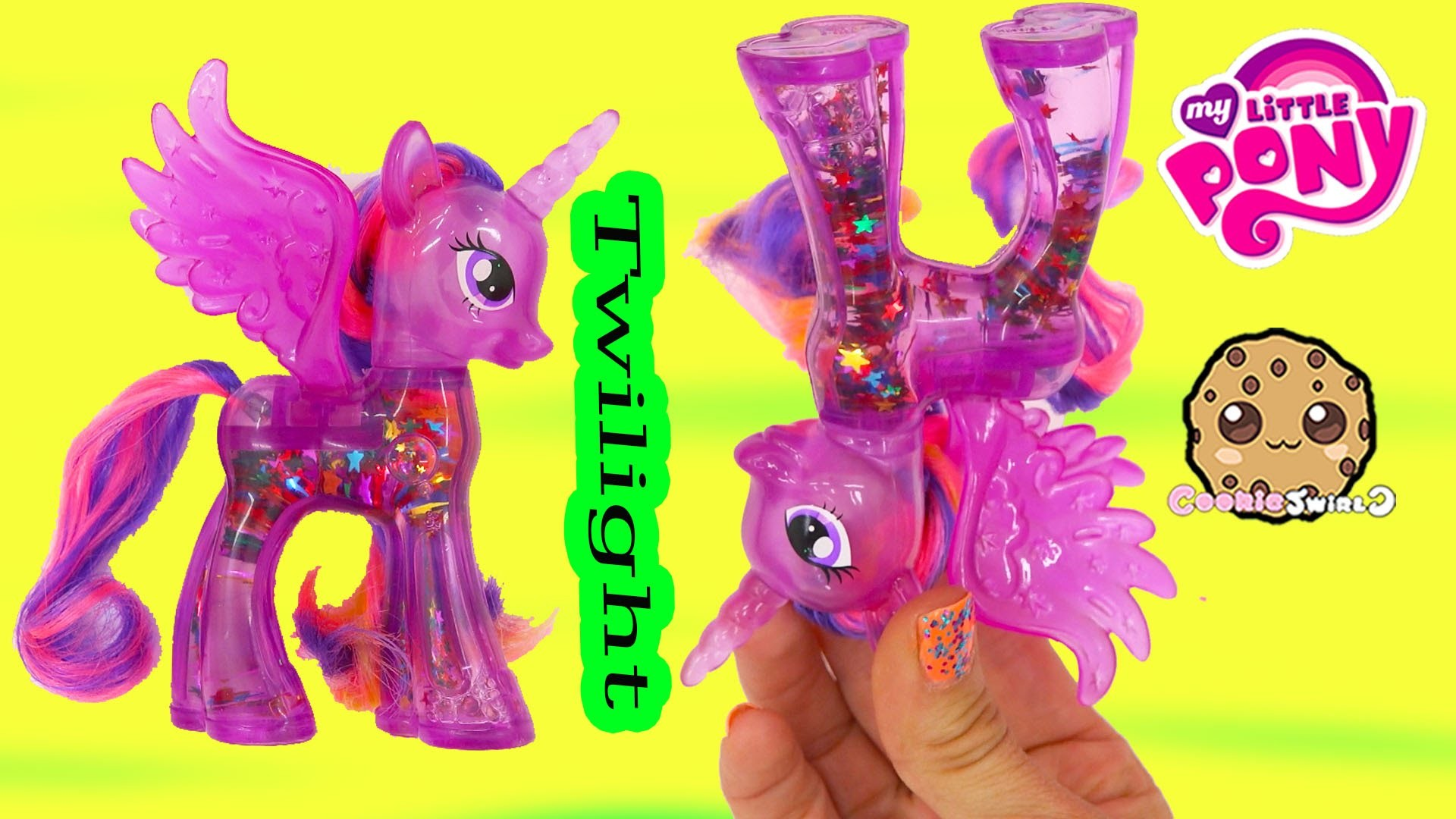 1920x1080 MLP Water Cuties Glitter Princess Twilight Sparkle Rainbow Shimmer My  Little Pony Toy Unboxing Video - YouTube