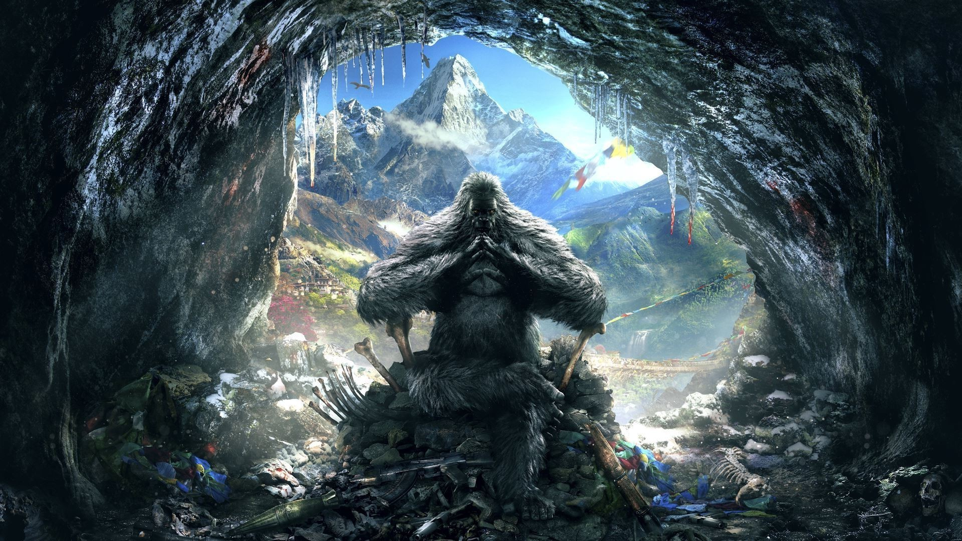 1920x1080 artwork, Video Games, Far Cry 4 Wallpapers HD / Desktop and Mobile  Backgrounds