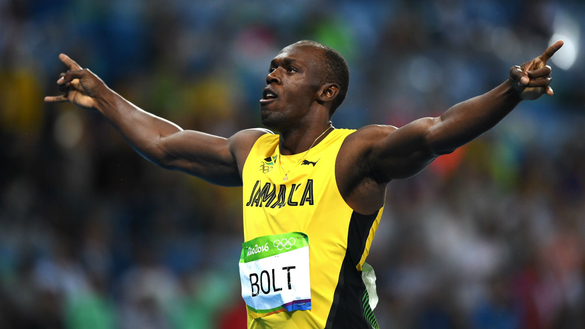1920x1080  Usain Bolt Shatters World Record for Longest Victory Celebration In Olympic  History