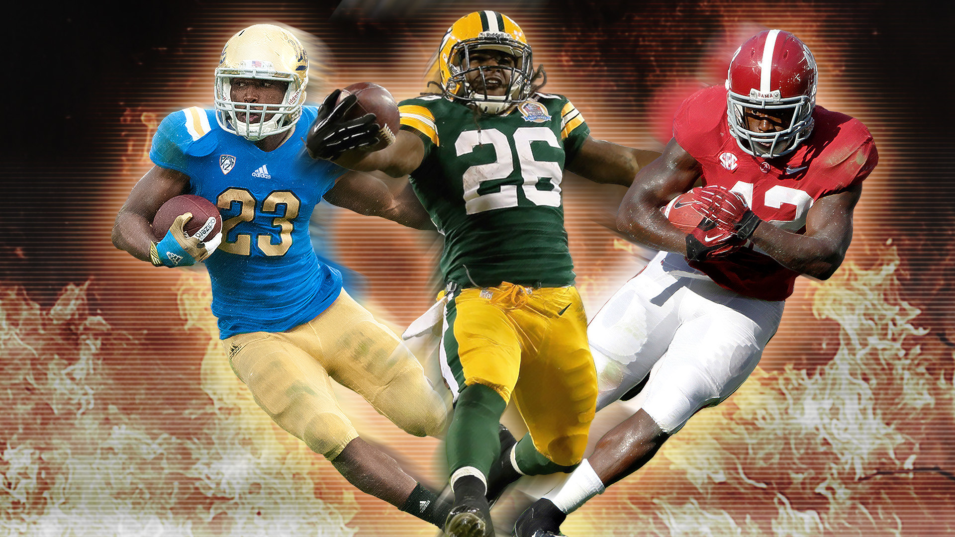 1920x1080 Eddie Lacy Green Bay Packers Wallpaper