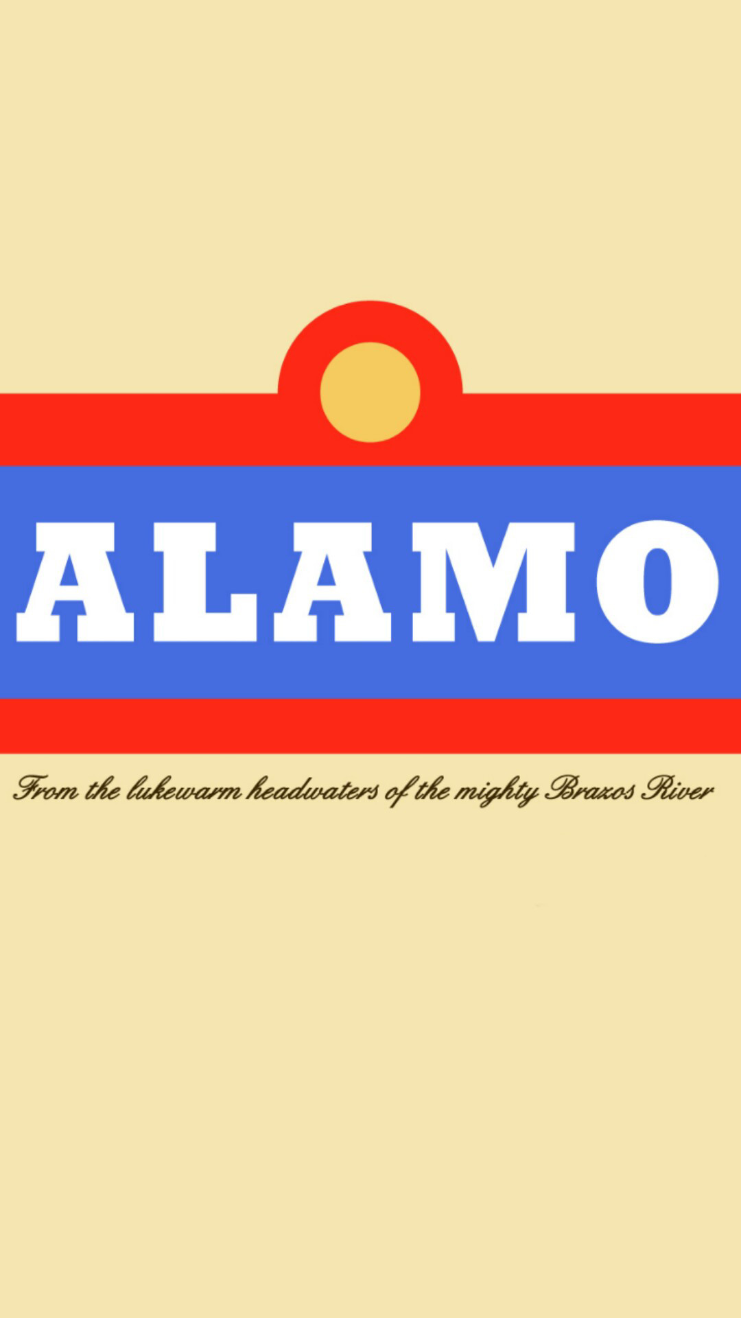 1080x1920 I made an Alamo beer phone wallpaper from an image I found.