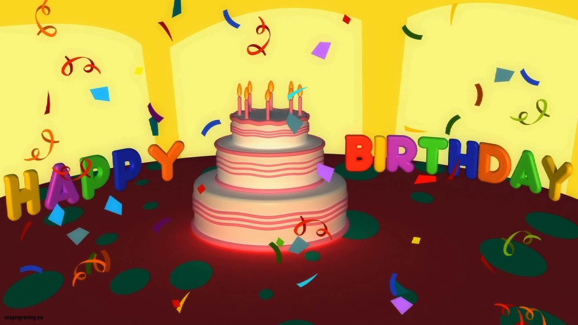 Birthday Video Greetings Choice Image greetings card design simple