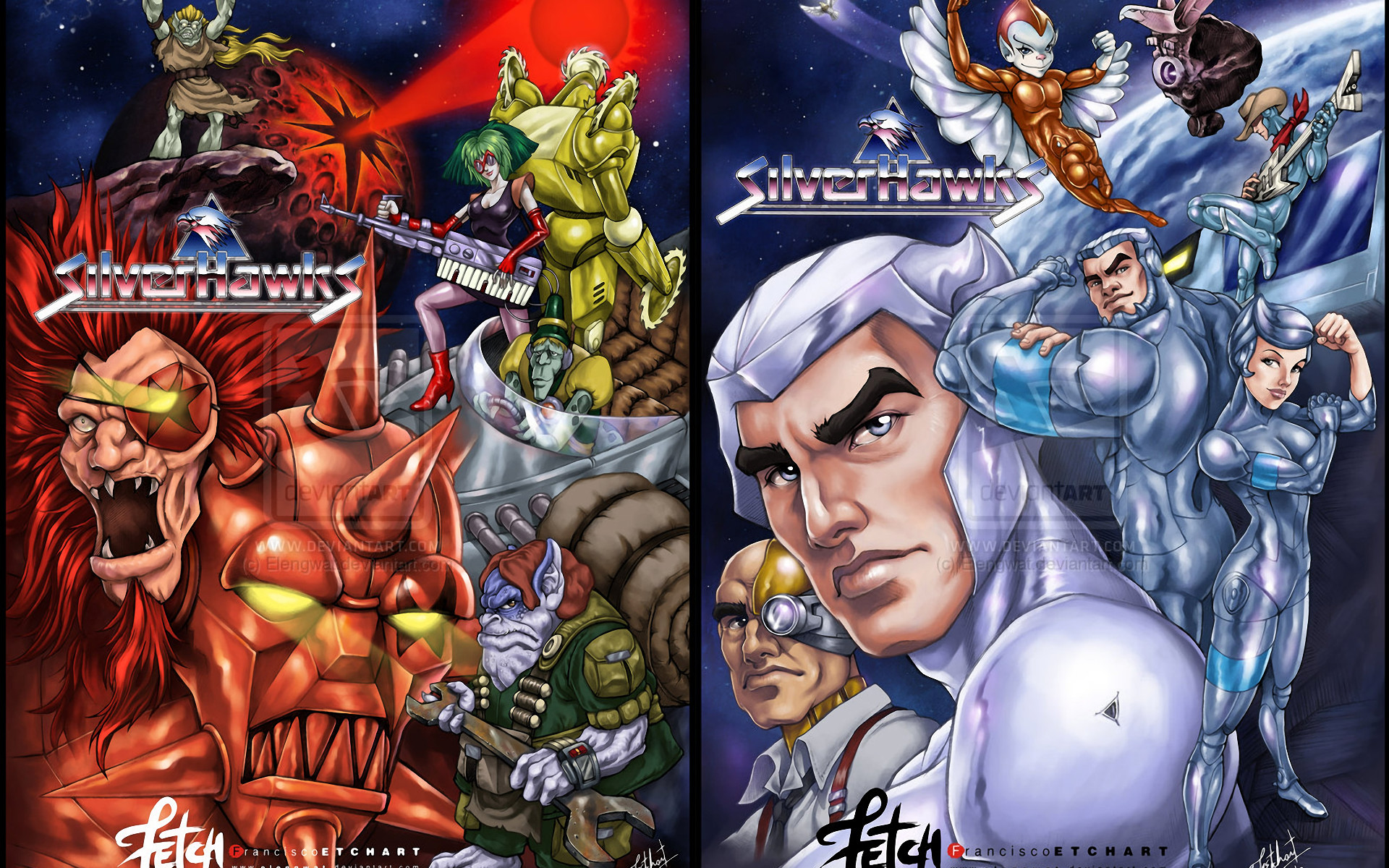 silver hawks wallpaper 55 images