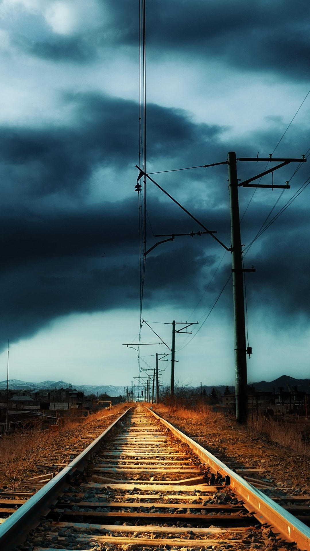 Hd train tracks wallpaper 57 images - Hd images download ...