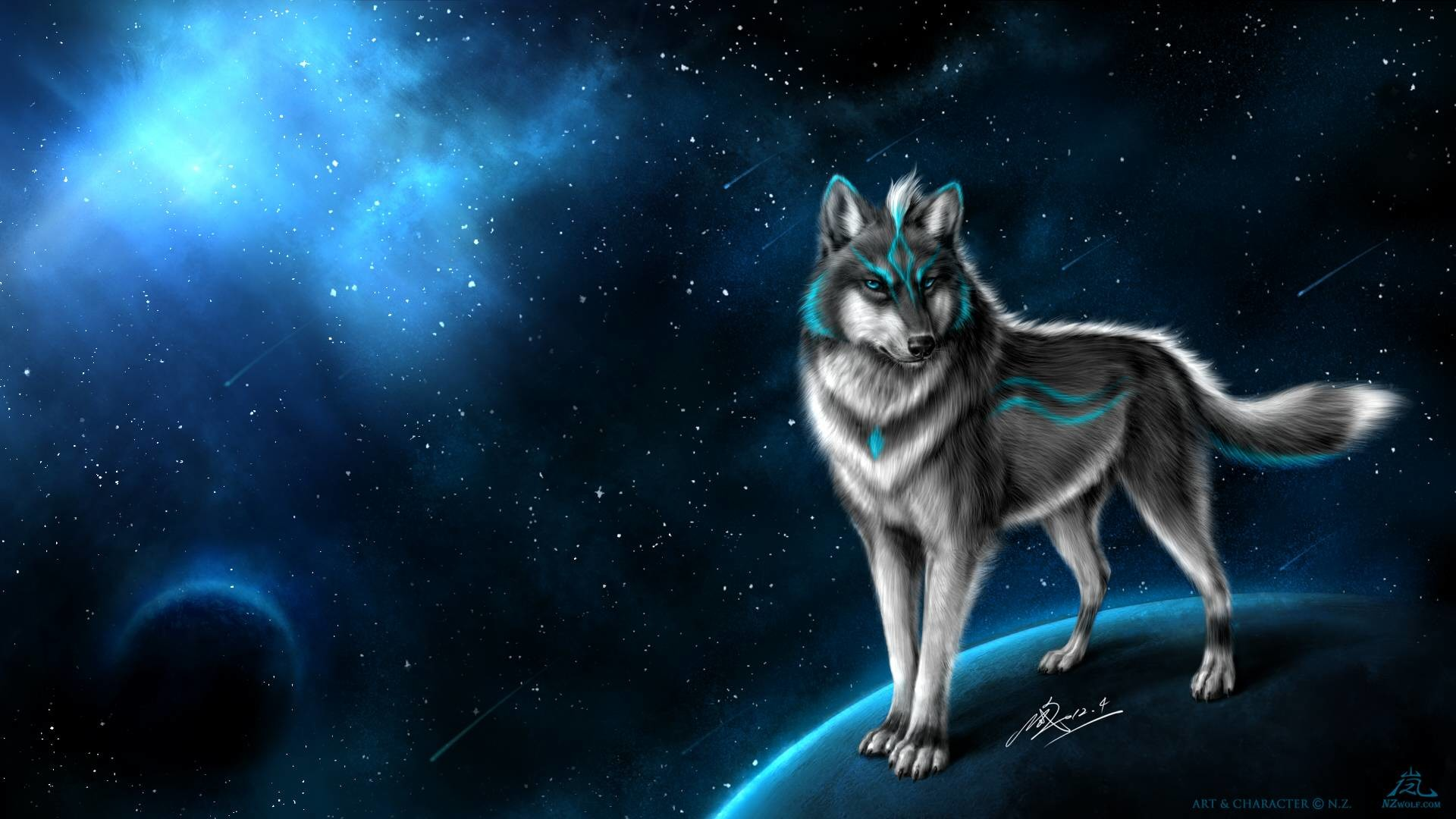 1920x1080 Wallpapers For > Fantasy Winged Wolf Wallpaper