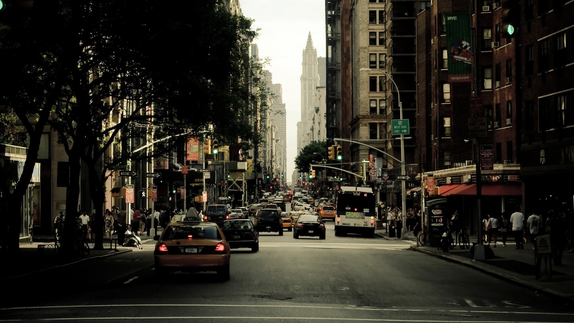 New York City Street Wallpaper 66 Images
