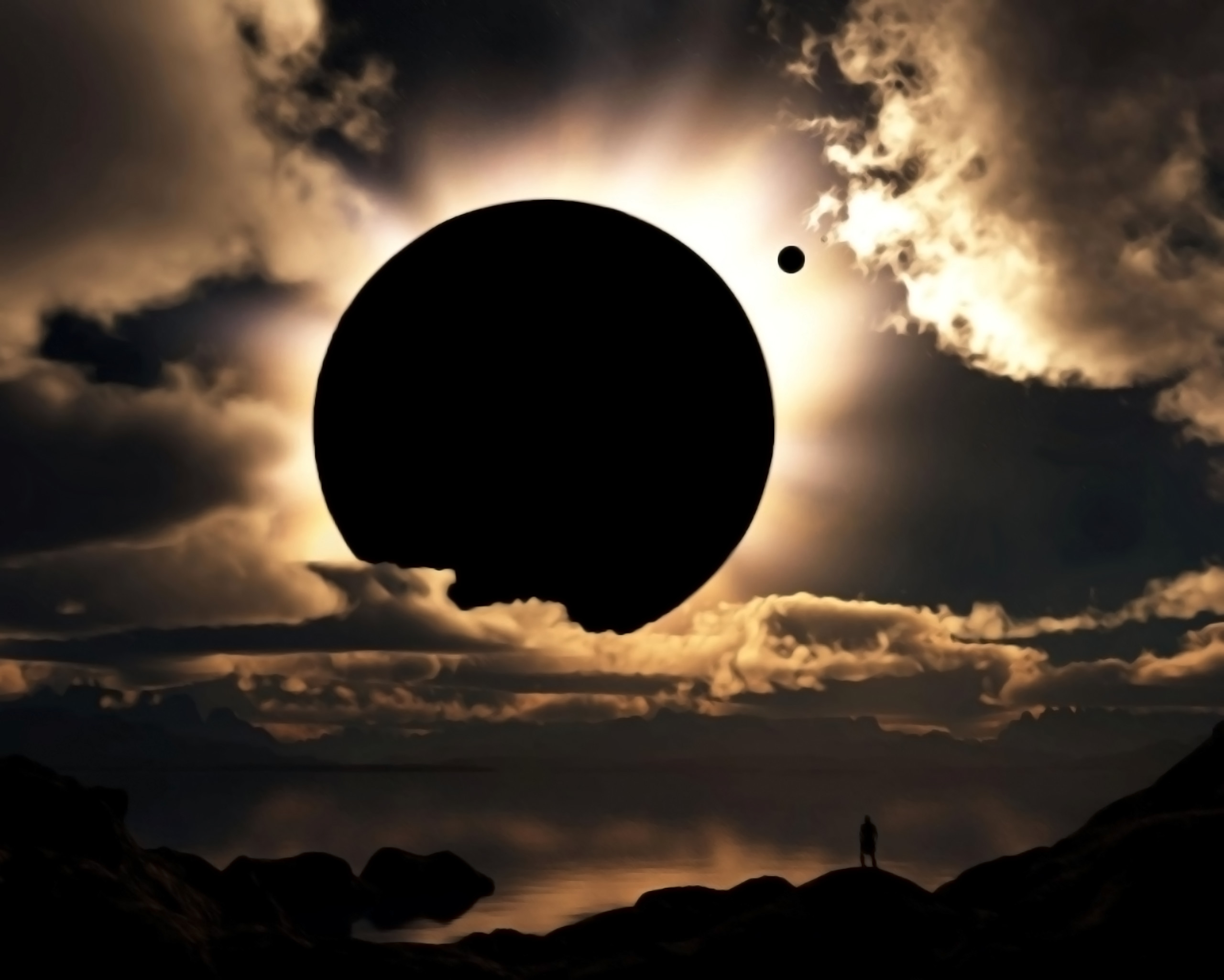 2560x2048 Fantastic Solar Eclipse in Planet Wallpapers HD / Desktop and Mobile  Backgrounds