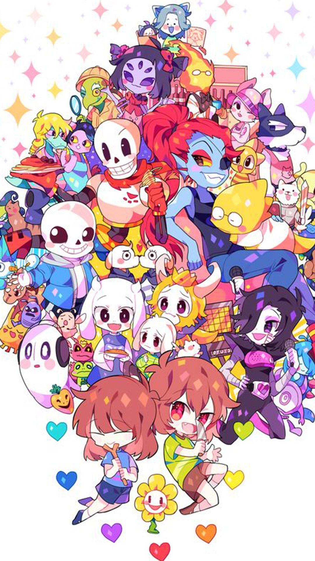 1080x1920  Undertale hd iphone wallpapers