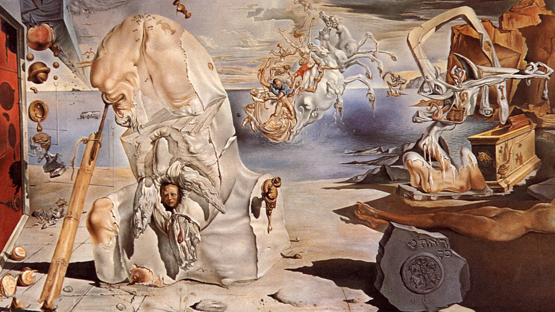 1920x1080 Salvador Dali Wallpaper HD
