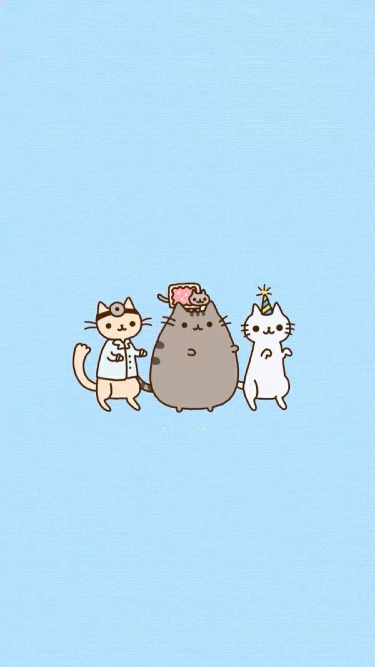 1200x2130 Pusheen The Cat Background | Funny Cat & Dog Pictures