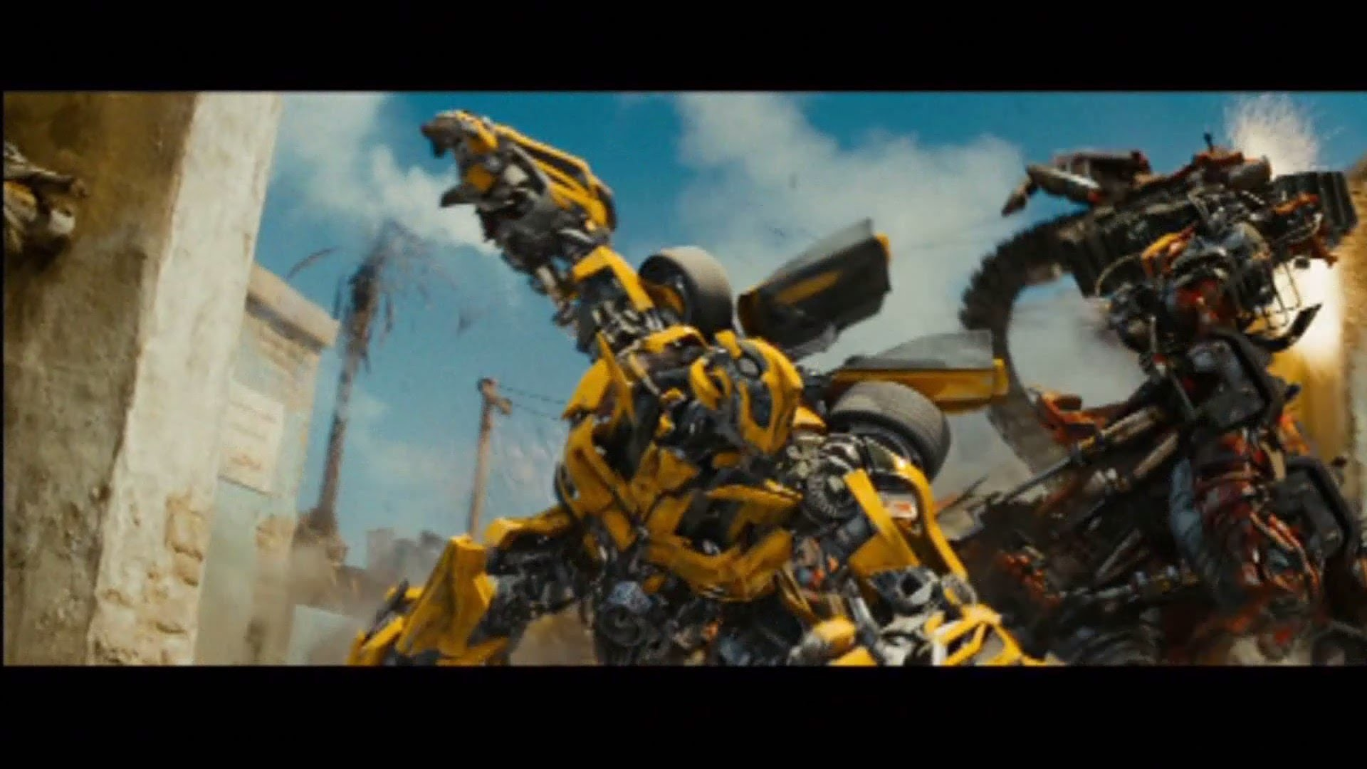 1920x1080 Transformers revenge of the fallen Bumblebee vs rampage and ravage (1080pHD  VO) - YouTube