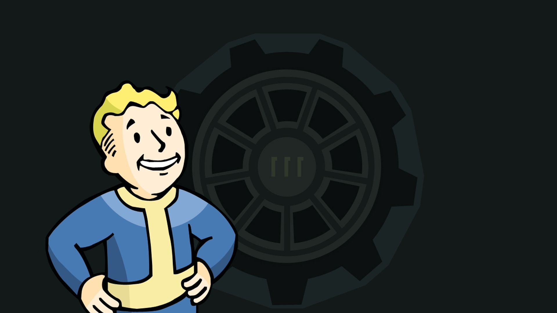1920x1080 Fallout 4, Video Games, Vault 111, Vault Boy, Fallout, Bethesda Softworks,  Apocalyptic Wallpapers HD / Desktop and Mobile Backgrounds