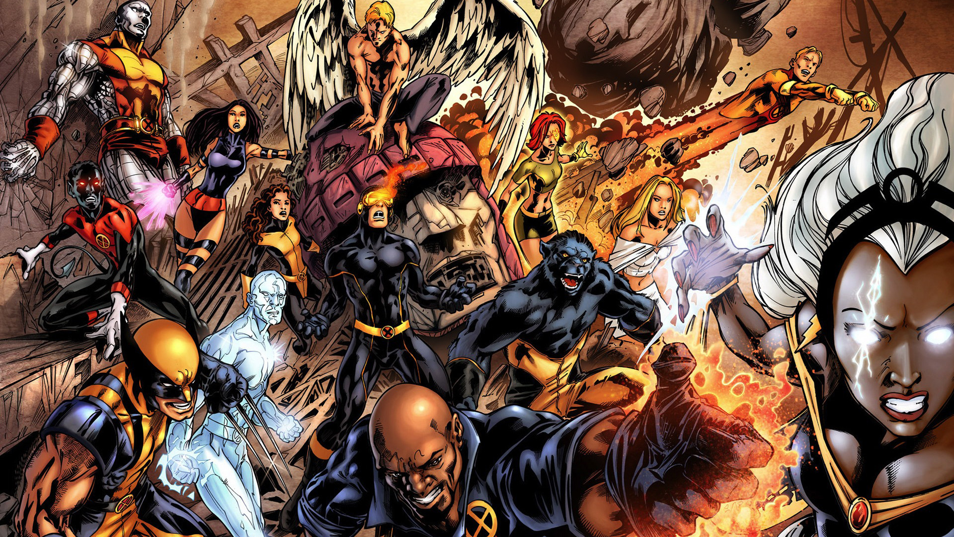 1920x1080 Men Marvel Wallpaper  XMen Marvel Comics