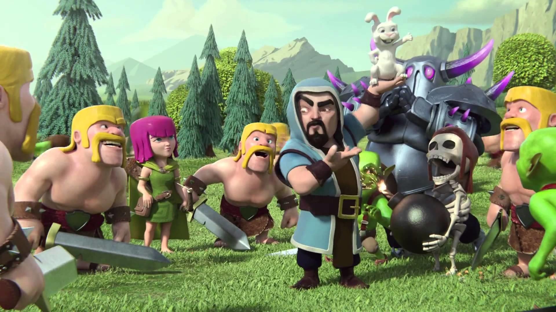 Barbarian Clash Of Clans Hd Hd Games 4k Wallpapers: Clash Of Clans Barbarian Wallpaper (73+ Images