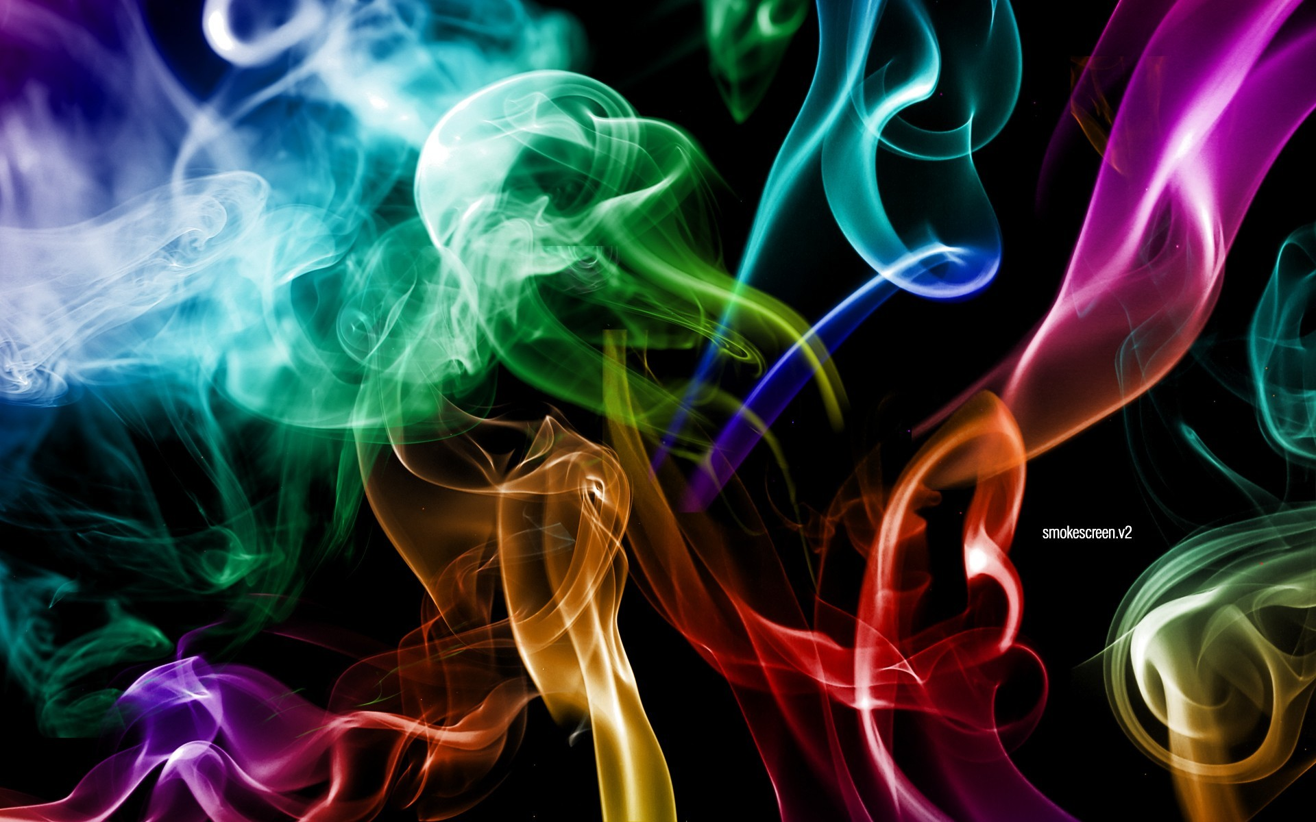 1920x1200 Smoke Colors Wallpapers | HD Wallpapers