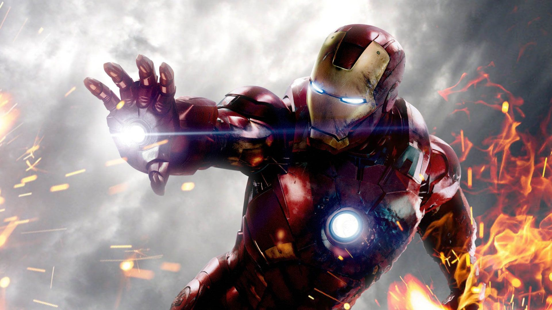 1920x1080 Ironman Wallpaper Iron Man In Action In The Fire 1920?1080 .