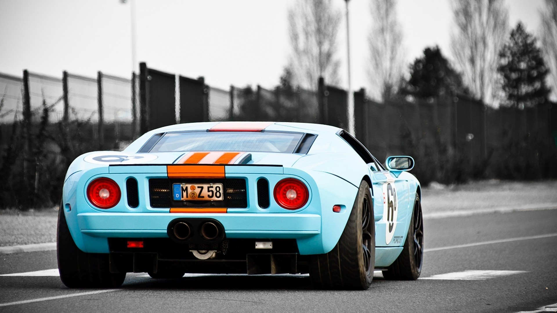 1920x1080 Gorgeous Ford GT Wallpaper.