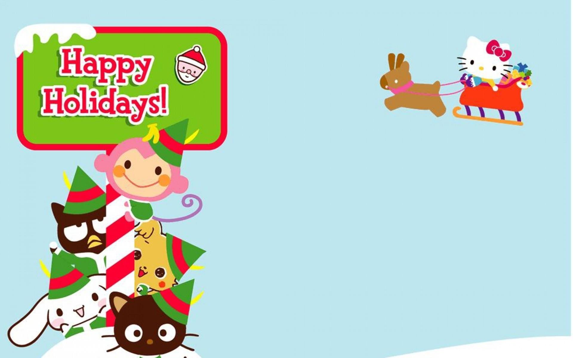 Hello Kitty Merry Christmas.Hello Kitty Merry Christmas Wallpaper 65 Images