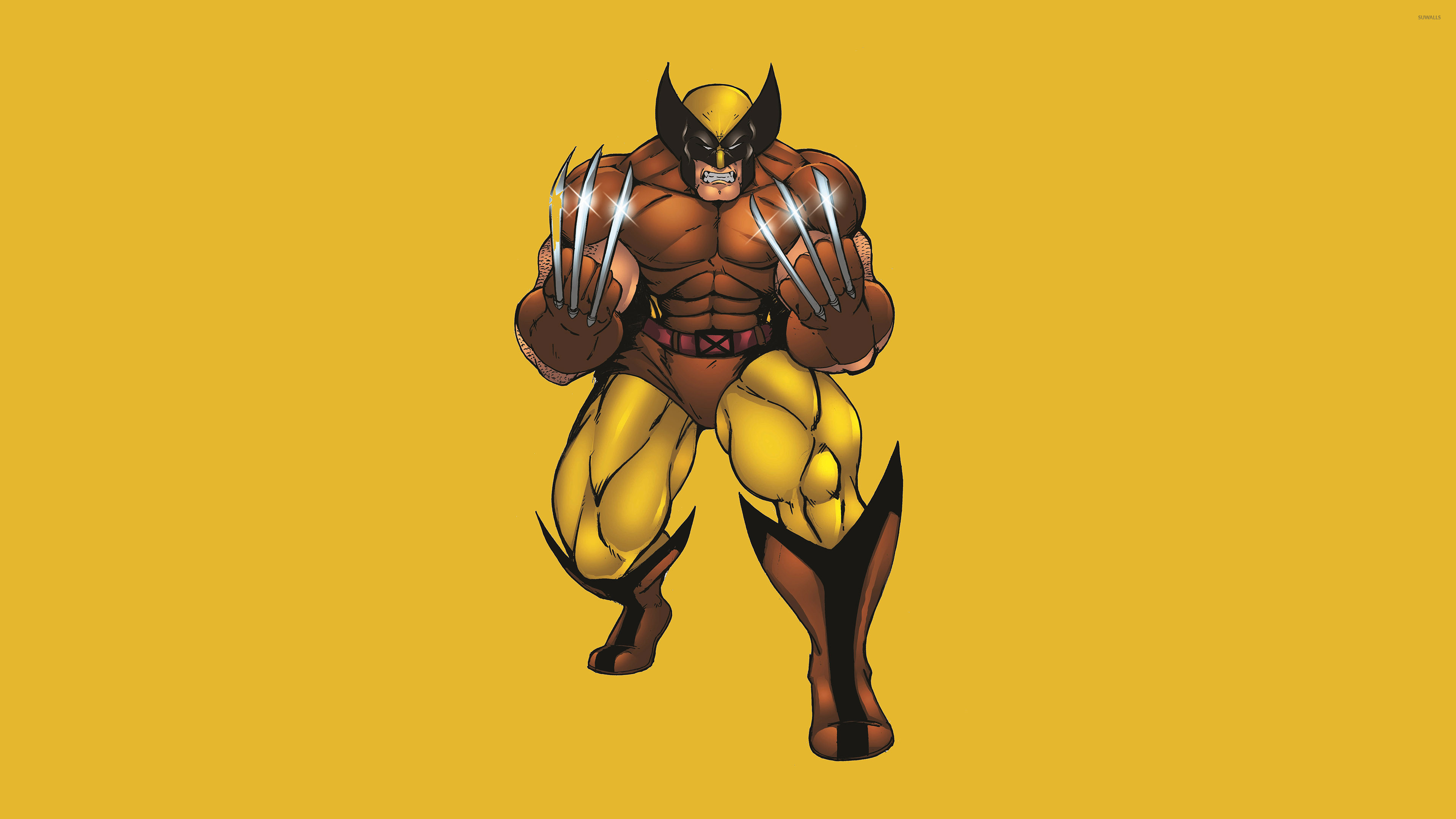 3840x2160 Wolverine with silver claws wallpaper  jpg