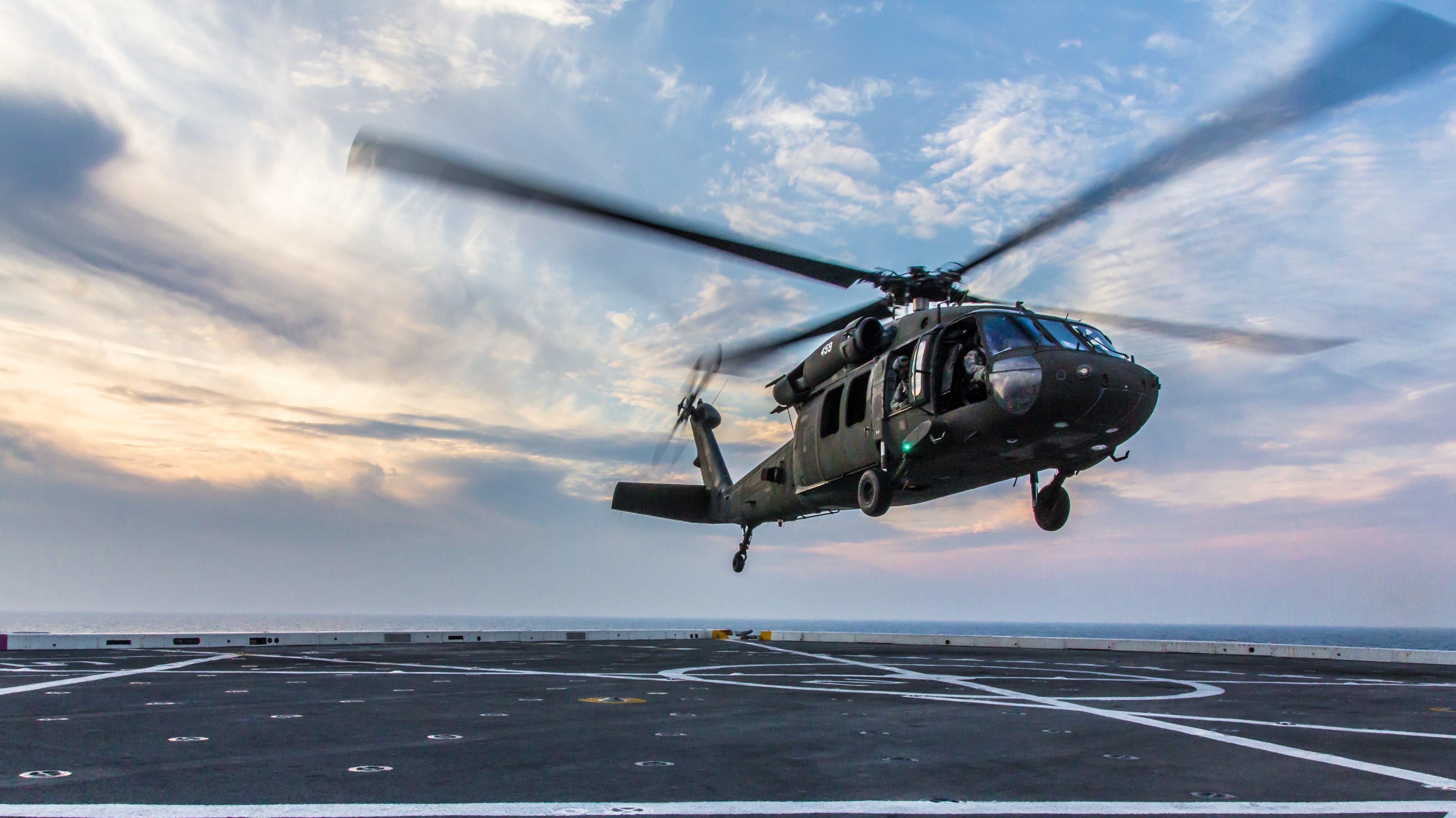Military Helicopter 4k Hd Desktop Wallpaper For 4k Ultra: Black Hawk Down Wallpapers (62+ Images