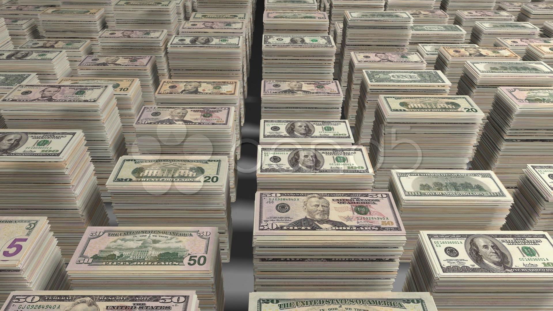 1920x1080 Money Stacks Wallpaper Hd