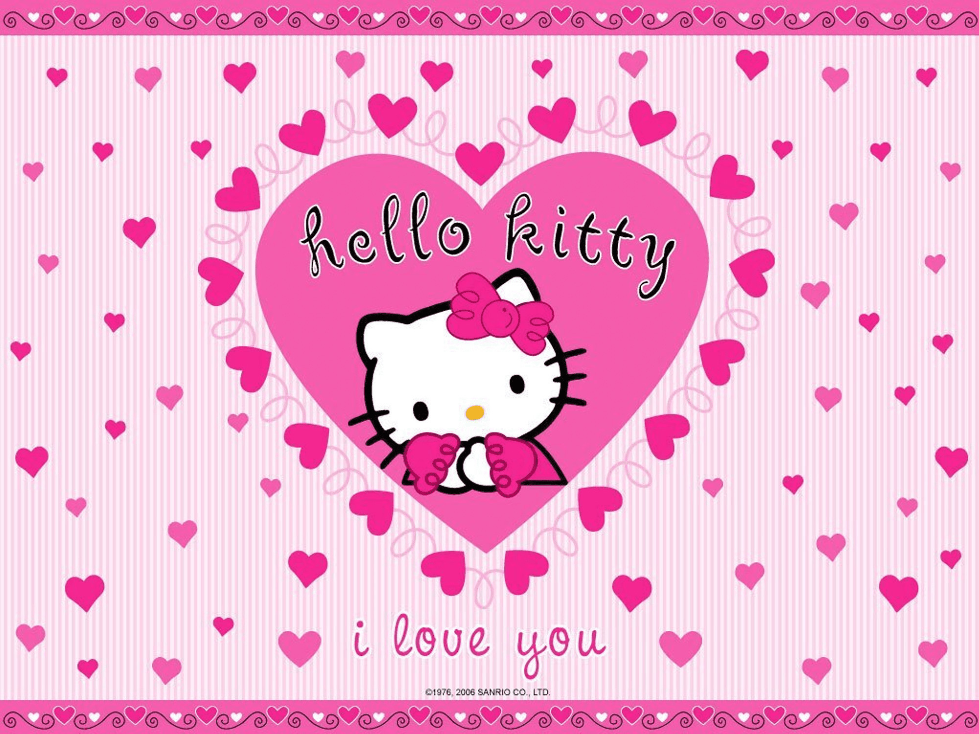 2000x1500  1920x1200 Pix For > Valentine Hello Kitty Wallpaper